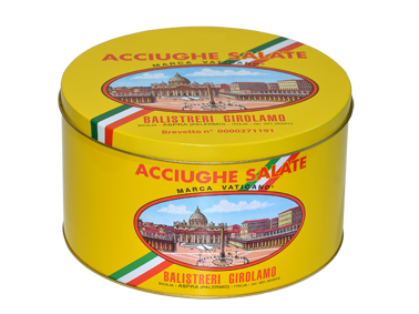 Acciughe Salate Siciliane 5 kg