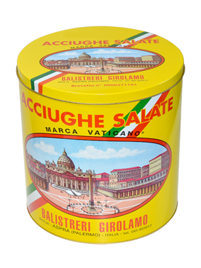 Acciughe Salate Siciliane 10 kg